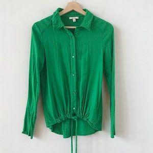 Ella Moss Kelly green blouse